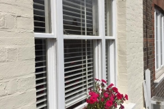 Sash Window renovation work complete