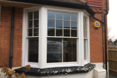Gallery - hardwood double glazed sash bay in Reigate 2