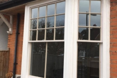 Gallery - hardwood double glazed sash bay in Reigate 4