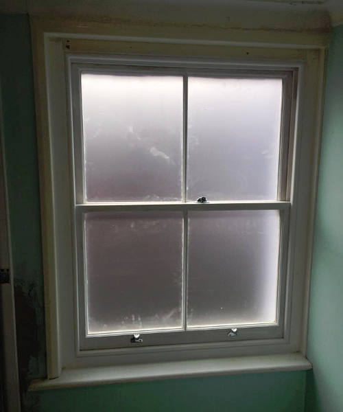 Sash Window renovation project in Tunbridge Wells 6