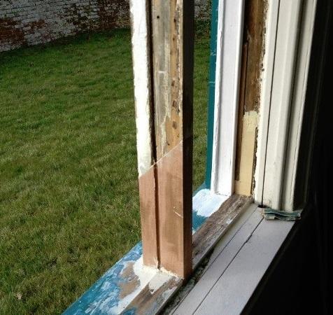 Venetian Sash Window renovation in Kent 2