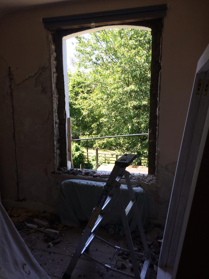 70's window removed