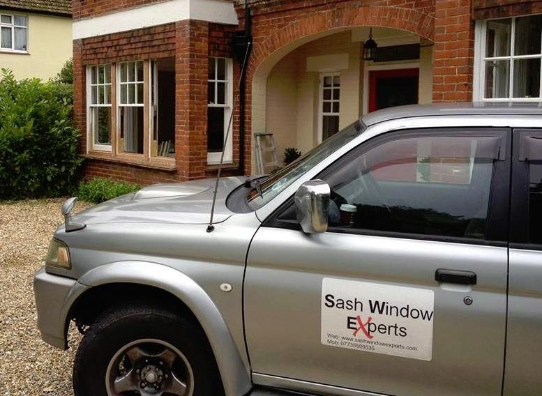 Sash Windows Van Image