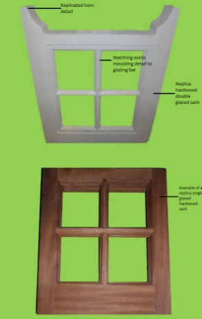 casement windows and doors diagram