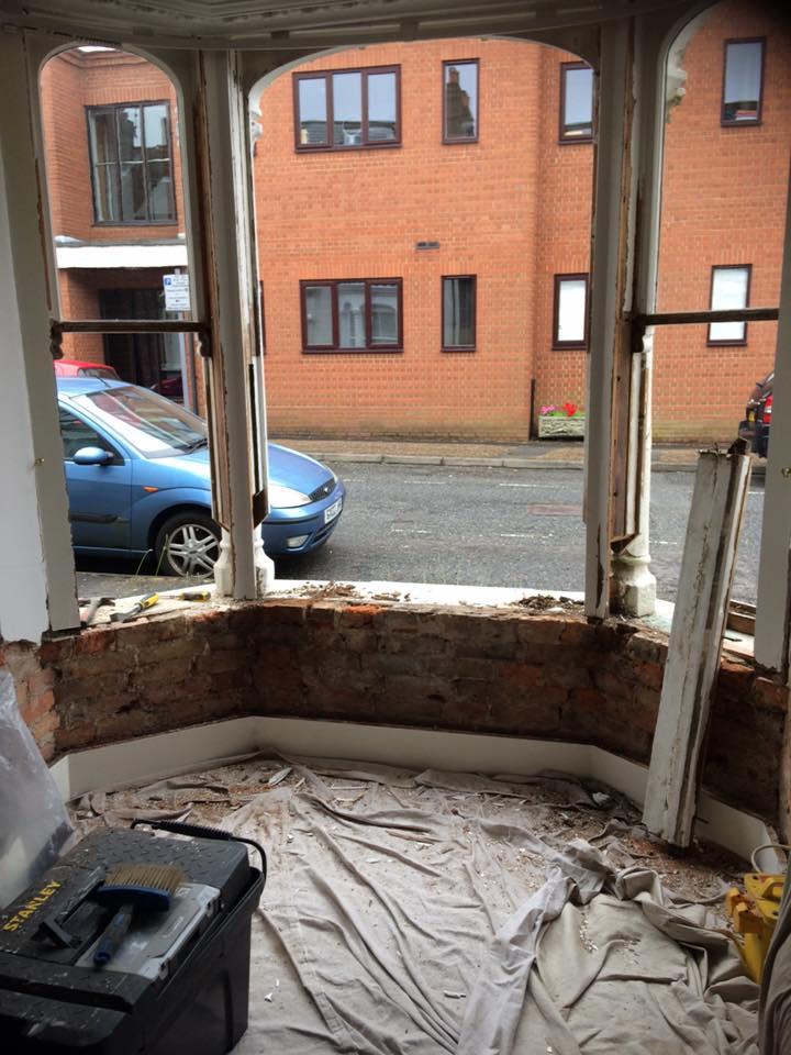 bay sash window repair
