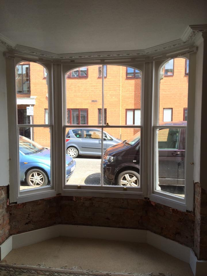 bay sash window repair