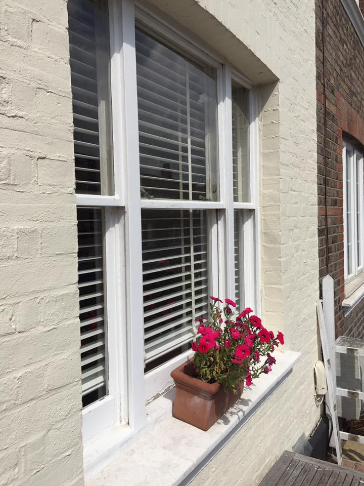 Renovation, draught proofing and redecorating of sash windows in Kent.