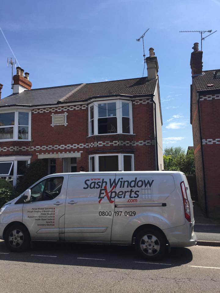 Reinstatement of Traditional Box Sash Windows upstairs windows