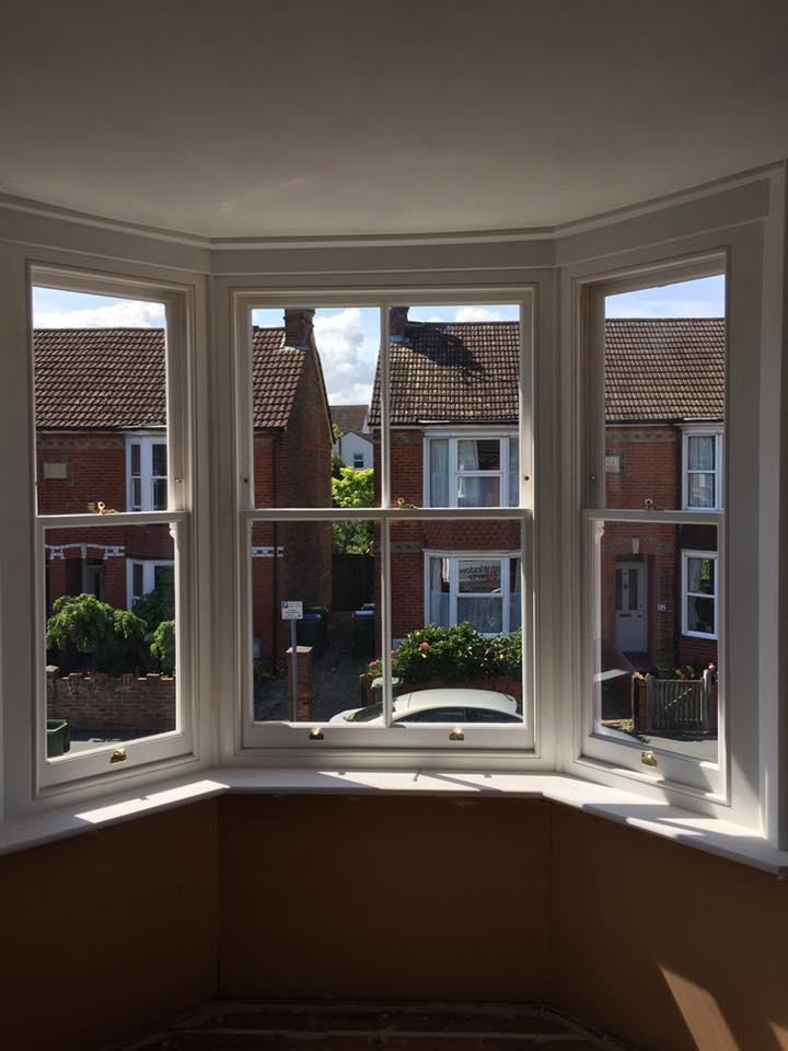 Reinstatement of Traditional Box Sash Windows Horsham