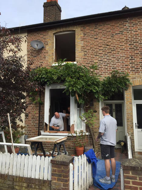 Draught proofing windows in Reigate