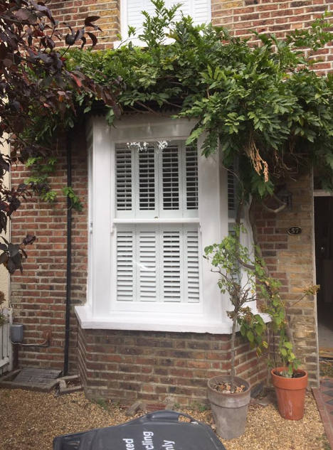 Draught proofing windows in Reigate after work is complete