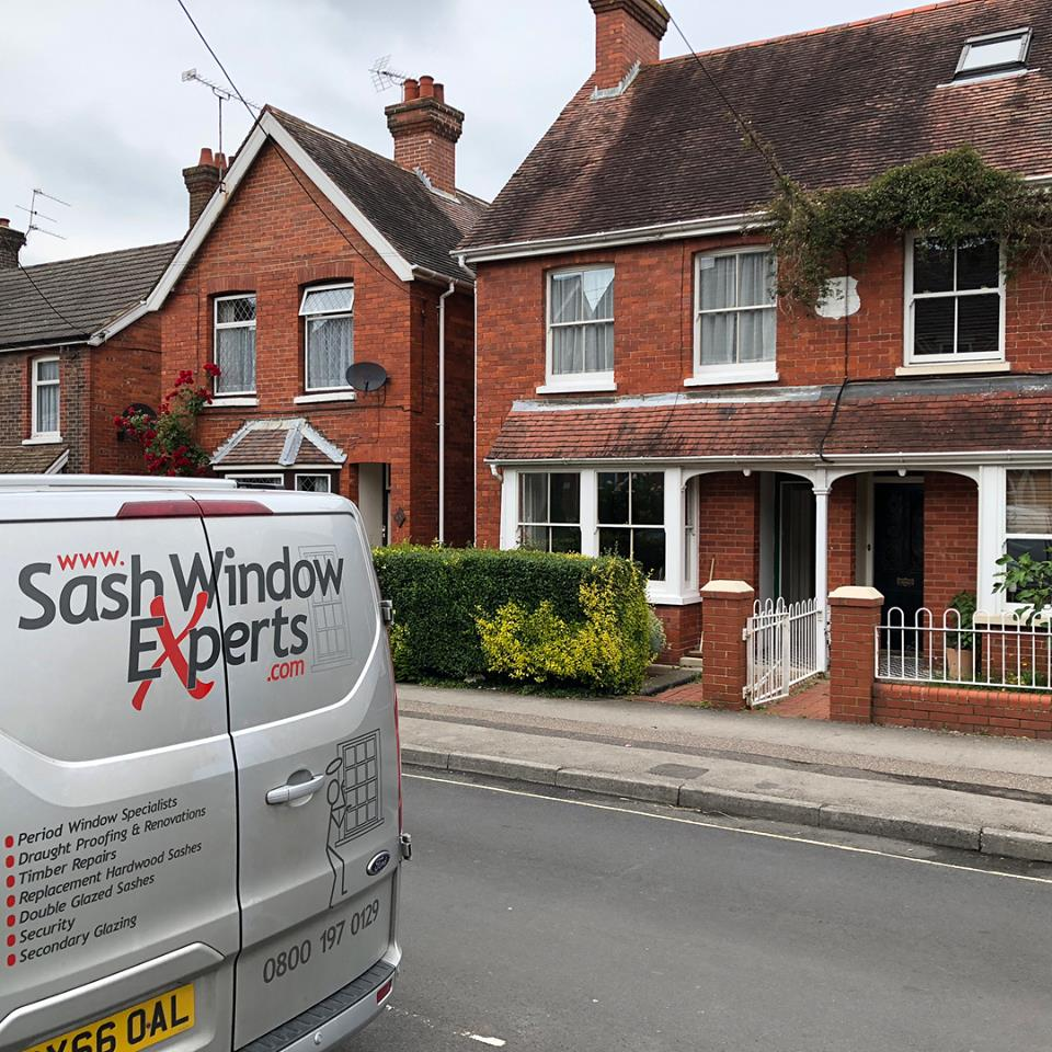 Sash windows in Crawley