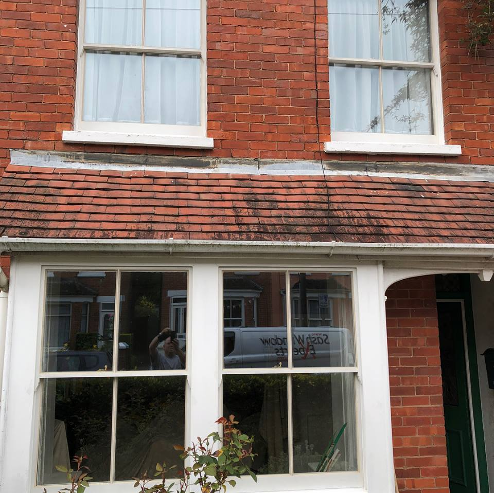 Sash window repair in Crawley