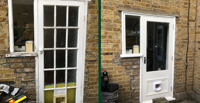 Whole house in Walton on Thames - Before and After