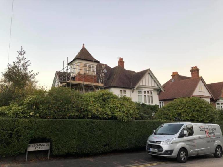 Wide shot of Tunbridge Wells Casement Renovation