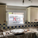 Draught proofing and renovation of sash windows in Horsham