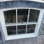 Close Up of New Dormer Windows