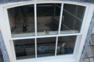 Close Up of New Dormer Windows