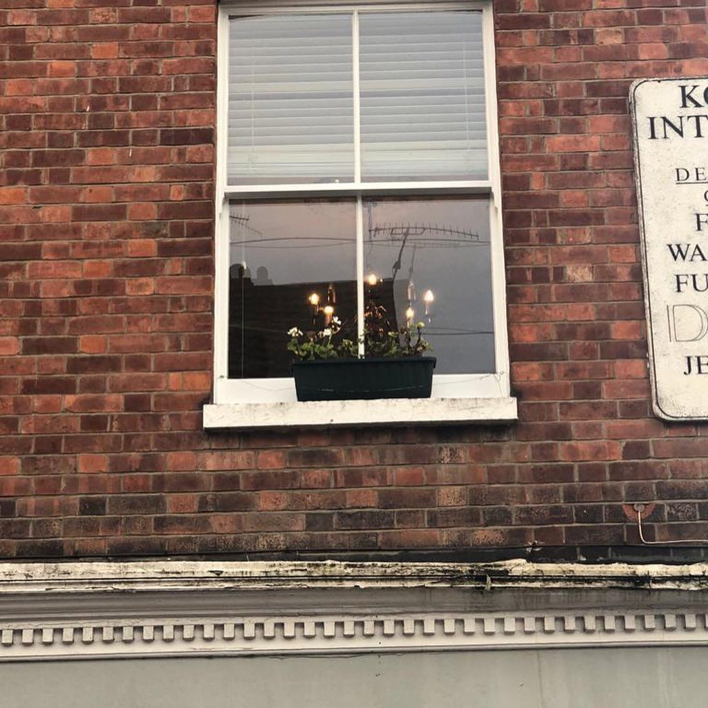 Installation of new double glazed hardwood sash windows