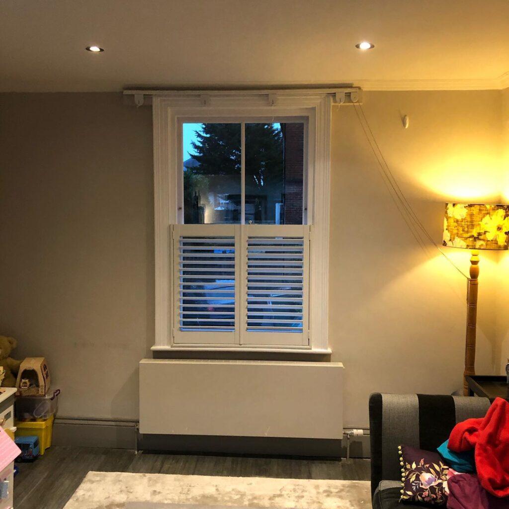 Installation of new hard wood sash windows with double glazed laminated glass 3